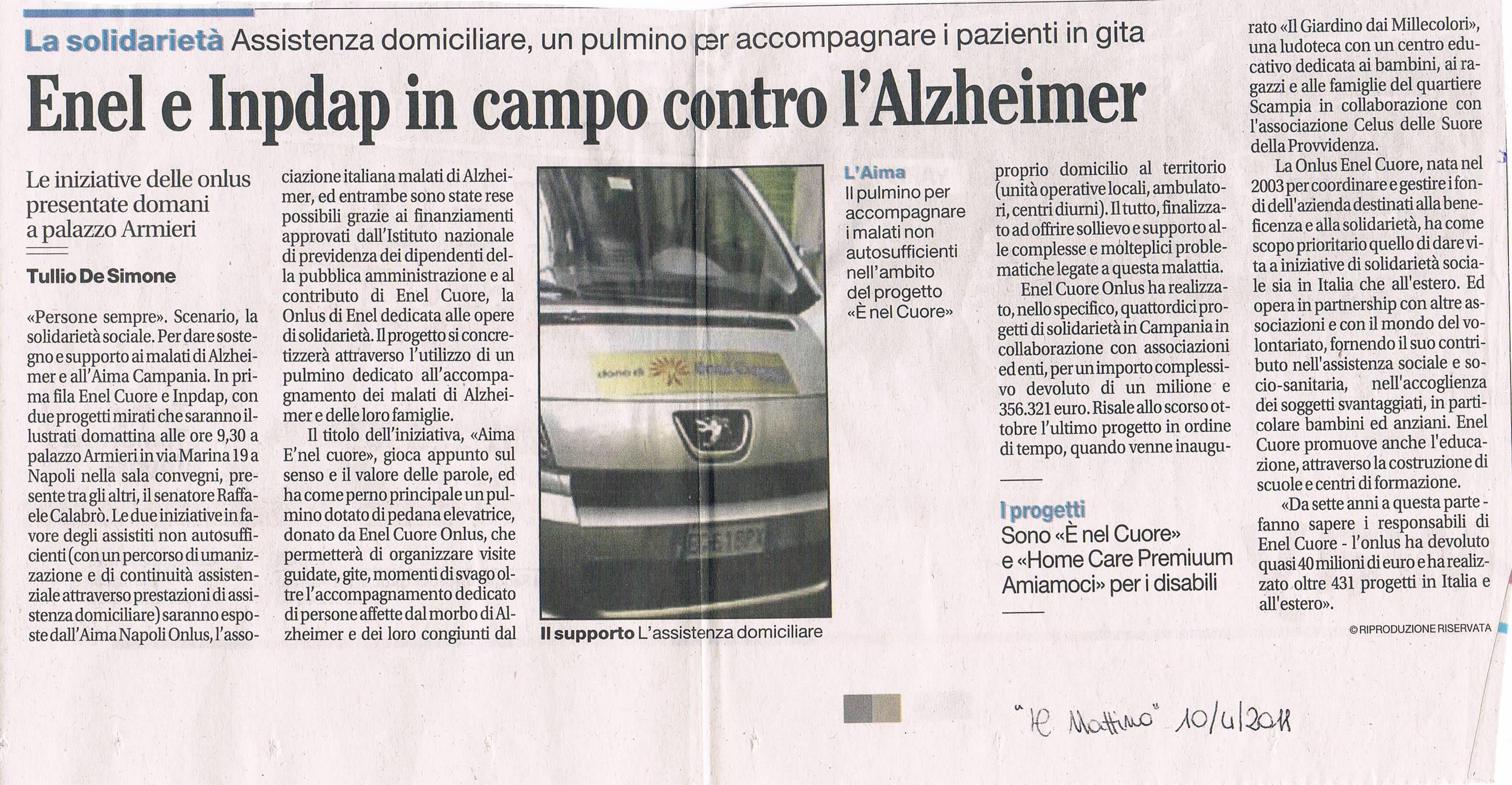Il Mattino 10apr2011