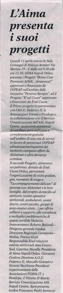 Nuova Stagione - Settimanale diocesano di Napoli 10apr2011