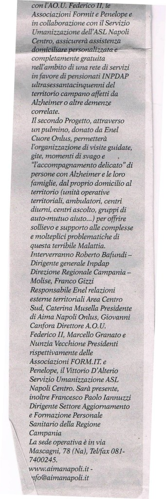 Nuova Stagione - Settimanale diocesano di Napoli 10apr2011(parte2)