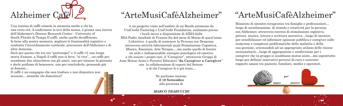 XX Giornata Mondiale Alzheimer