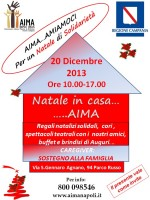 Natale di solidarietà in Casa AIMA – 2013