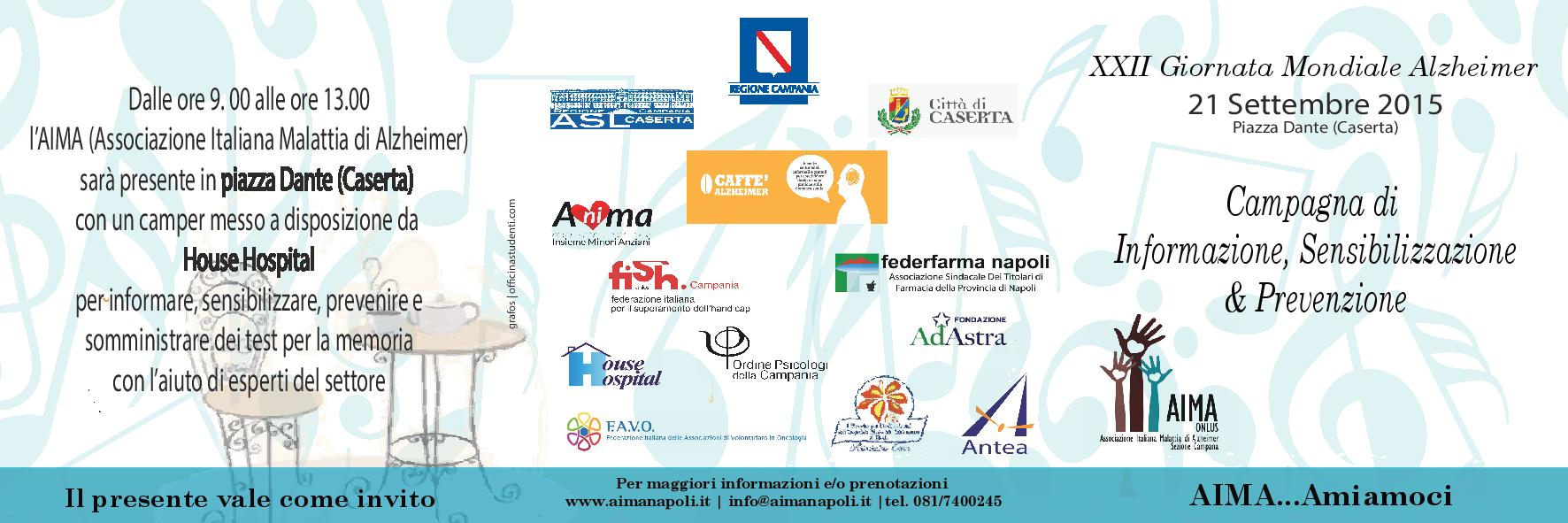 Giornata Mondiale Alzheimer 2015 Caserta