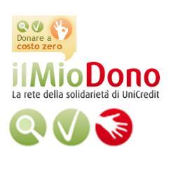 1 voto, 200.000 aiuti concreti..Campagna Il Mio Dono Unicredit
