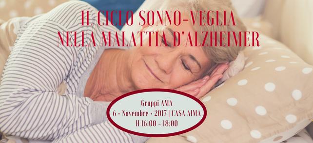 Il ritmo sonno-veglia – Alzheimer Cafè