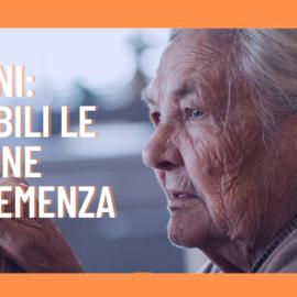 Vaccini: Le persone con demenza continuano ad essere invisibili